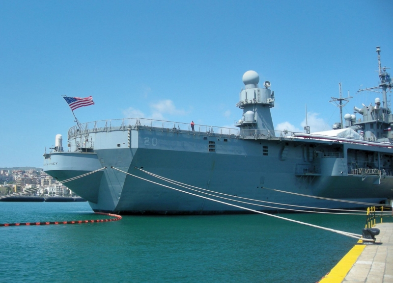 USS MOUNT WHITNEY - LCC 20