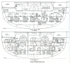 CANBERRA   -    Engine Rooms     Transverse Sections