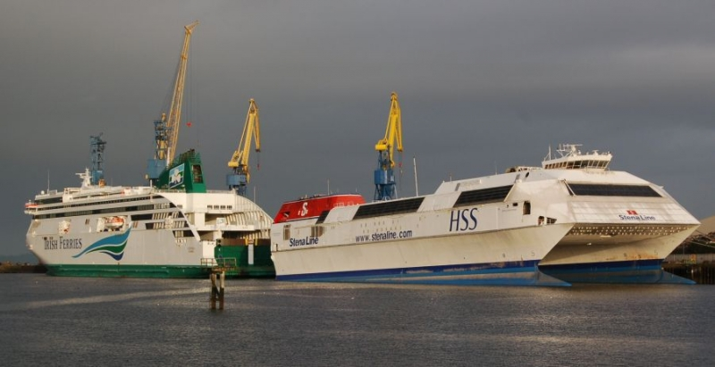 ULYSSES and STENA DISCOVERY