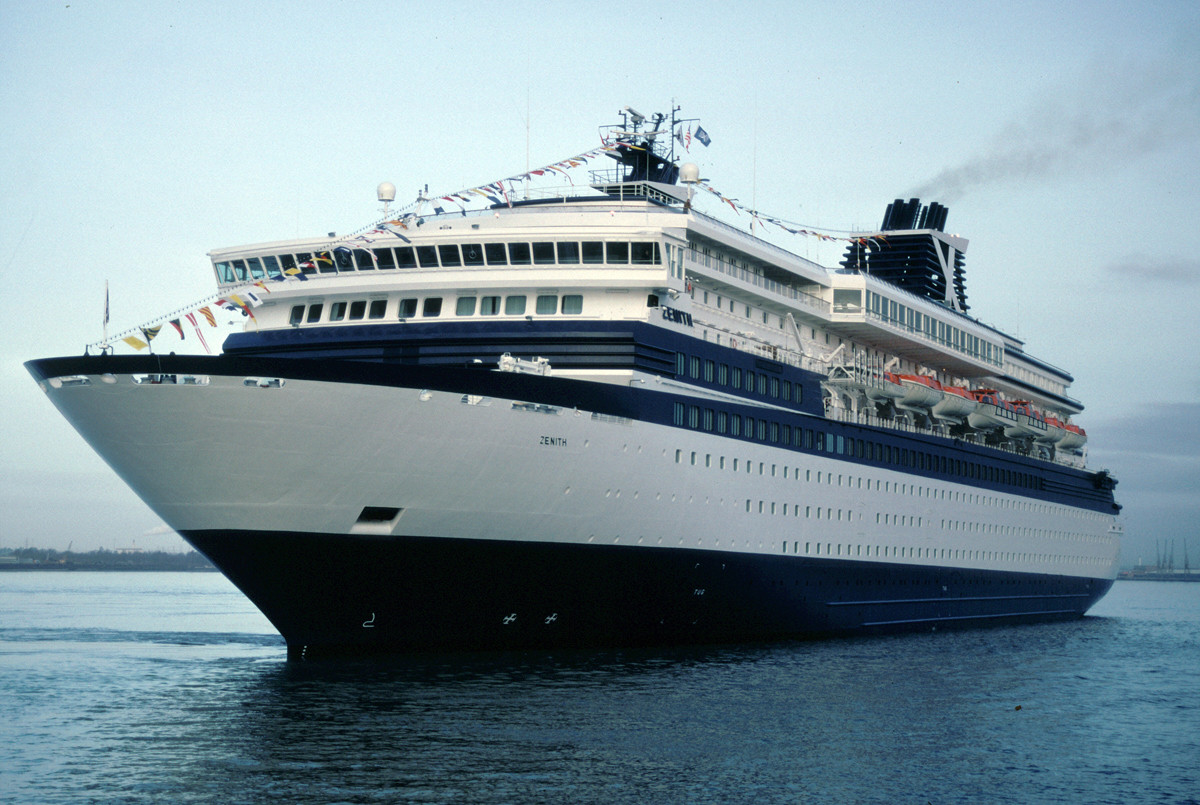 Celebrity Cruises Celebrity Zenith Cruise Ship