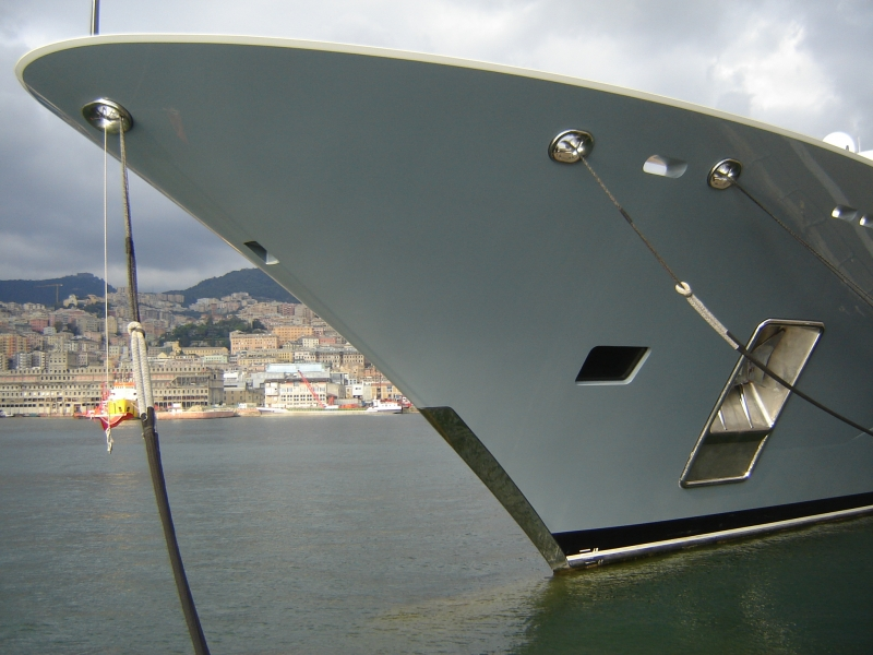 Navi e armatori approdi di passione for Lurssen yacht genova