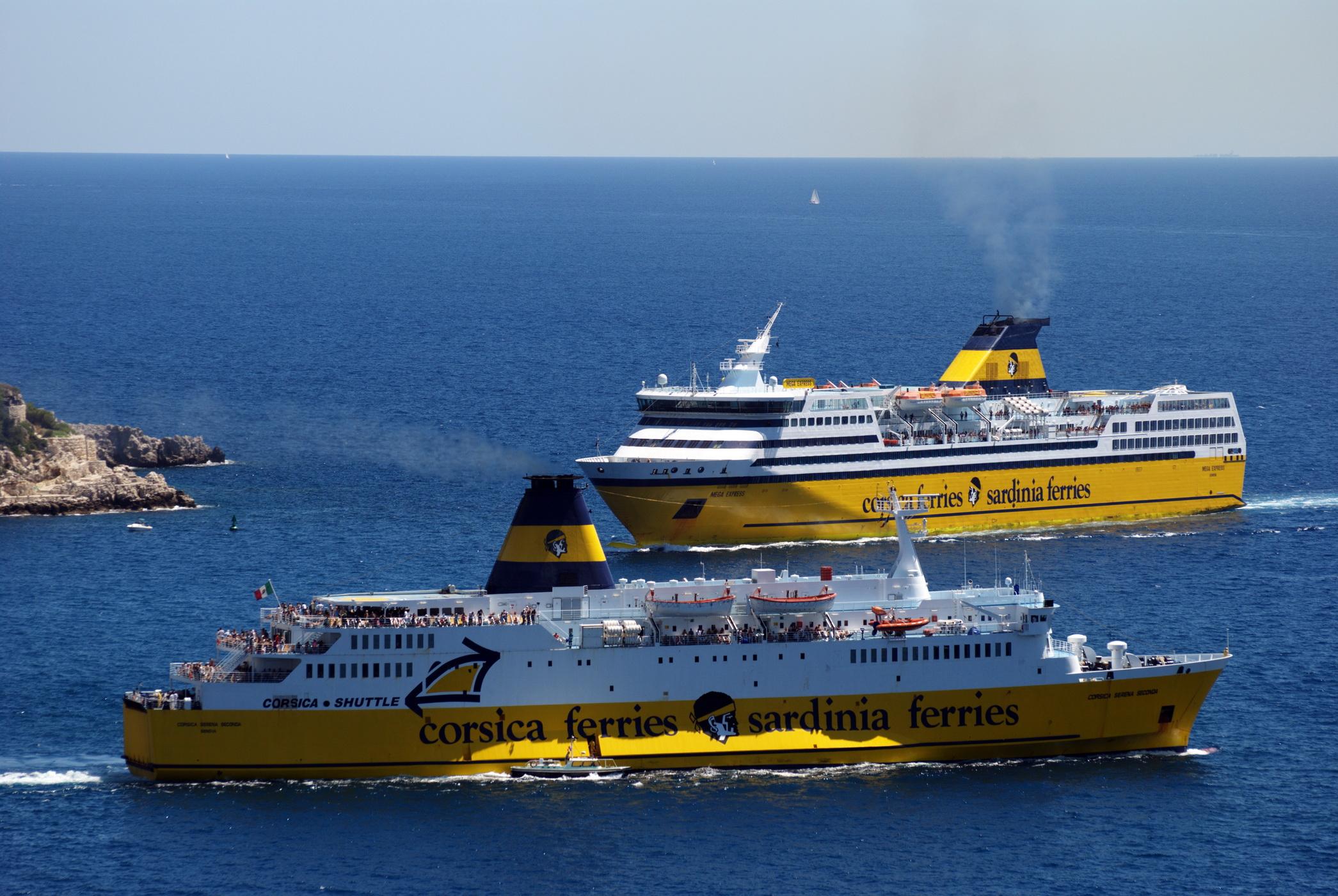 Corsica ferries for Mega express 2 piscine
