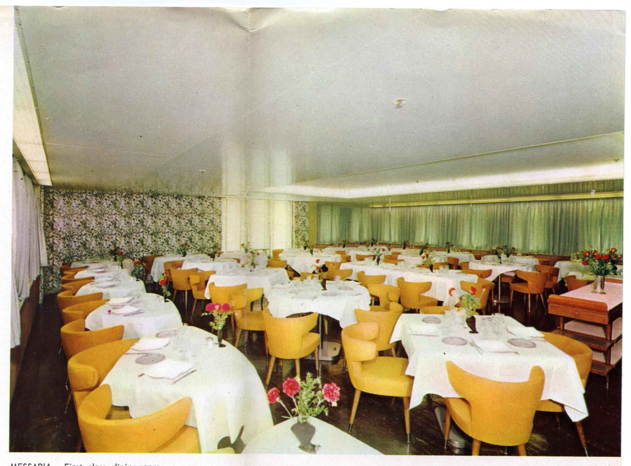 Navi e armatori approdi di passione - Sala da pranzo inglese ...