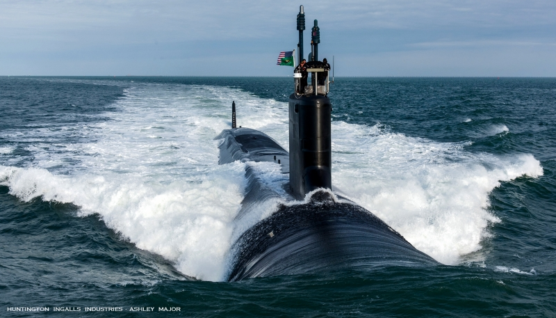 USS  WASHINGTON  ( SSN - 787 )