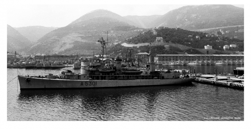 PIETRO CAVEZZALE A 5301 ex USS OYSTER BAY ( AGP - 6 )