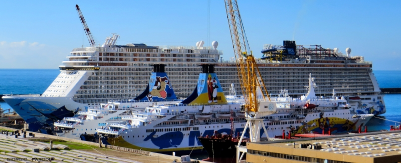 MOBY DREA , MOBY OTTA e NORWEGIAN ESCAPE