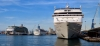 NAVIGATOR OF THE SEAS , THOMSON MAJESTY e  MSC ARMONIA