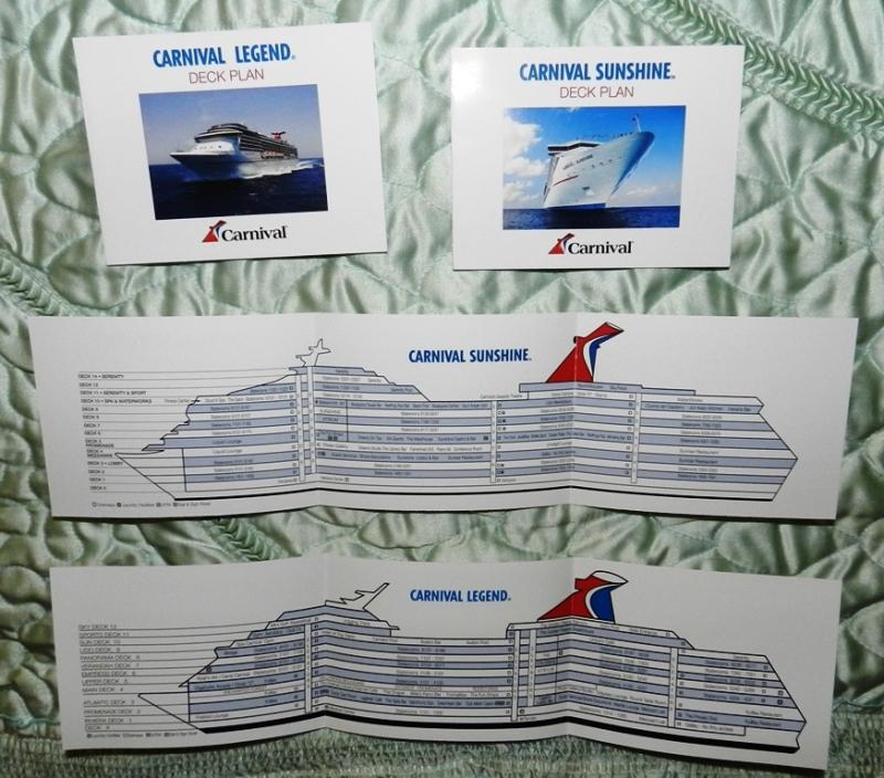 carnival legend deck plans pdf