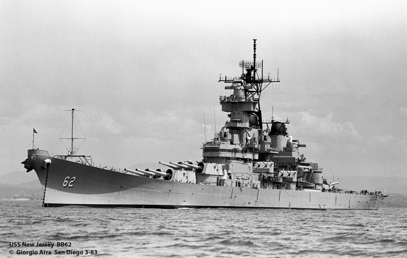 USS New Jersey  BB62
